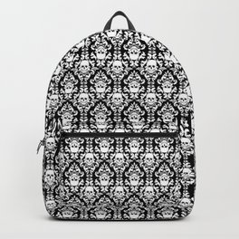 Skull Damask Backpack