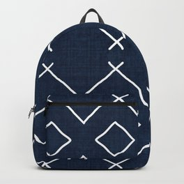 Bath in Navy Backpack