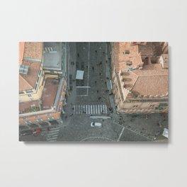 Above Via Rizzoli Metal Print