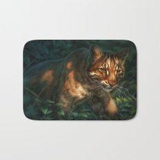 Golden Cat Bath Mat