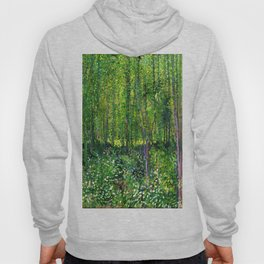 Vincent Van Gogh Trees & Underwood Hoody