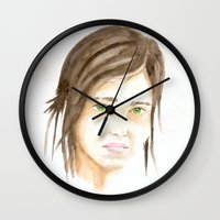 the last of us Wall Clocks featuring Last of us? Ellie? by S'ANNie