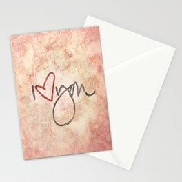 I love you more... every day - 01 (3 piece set) Stationery Cards
