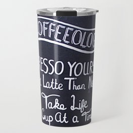 Coffeeology Travel Mug
