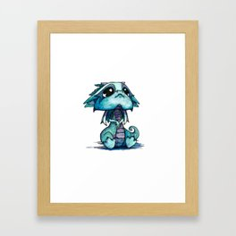Baby Dragon Framed Art Print