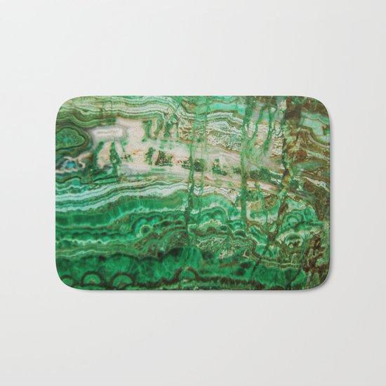 MINERAL BEAUTY - MALACHITE Bath Mat