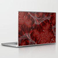weed Laptop & iPad Skins featuring Red Weed by Steve Purnell