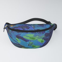 Horse Riders in the Autumn Sea Fanny Pack
