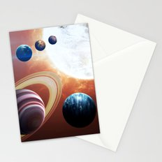 Planets Road Trip Stationery Cards