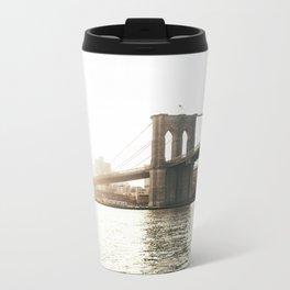 Brooklyn Bridge Metal Travel Mug