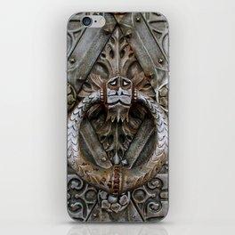 the door keeper iPhone Skin