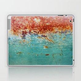 Teal Rust Laptop & iPad Skin