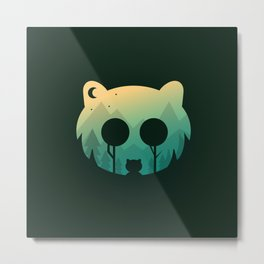 Two Little Bears Metal Print