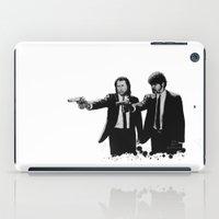 pulp fiction iPad Cases featuring Pulp Fiction  by OnaVonVerdoux