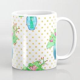 Beautiful soft pink and blue pattern Coffee Mug