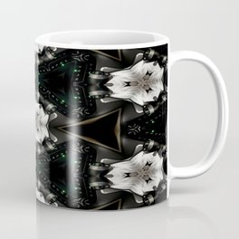 Concave Stature Pattern Coffee Mug