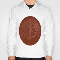 native american Hoodies featuring native american by johanna strahl