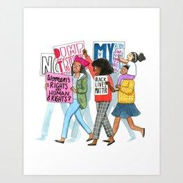 Democracy Art Print