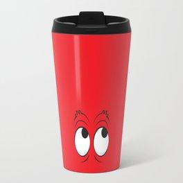 Monster Eyes Red Travel Mug