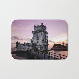 tower of belem Bath Mat