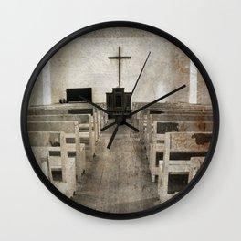 Bible Print Wall Clock