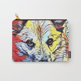 Color Kick - Dog (R) Carry-All Pouch