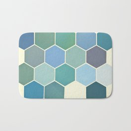 Shades of Blue Bath Mat