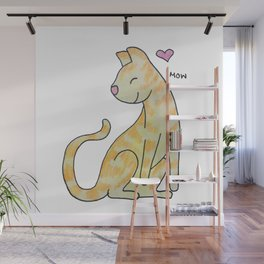Mow Wall Mural