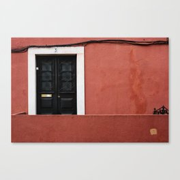 Door No 3 Canvas Print