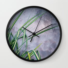 Palm Palette Wall Clock