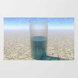 Glass of Water Rug