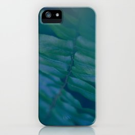 Midnight Green iPhone Case
