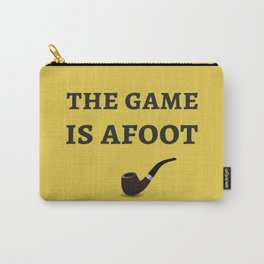 The Sherlock Holmes Quote II Carry-All Pouch