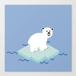 Snow Buddy Canvas Print