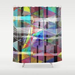 fractour de trigone Shower Curtain