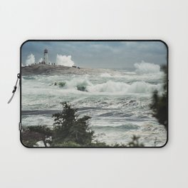 Storm Chasers at the Lighthouse Laptop Sleeve