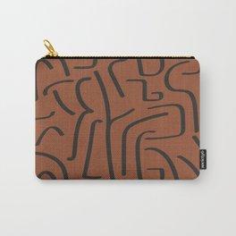 Calligraffiti Slim | Rust + Iron Carry-All Pouch