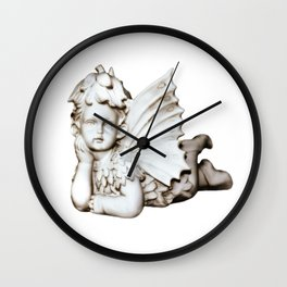 Sweet Forest Angel Wall Clock