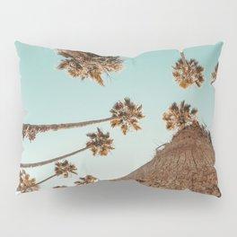 {1 of 2} Hug a Palm Tree // Tropical Summer Teal Blue Sky Pillow Sham
