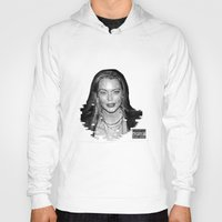 lindsay lohan Hoodies featuring lYNDSAY lOHAN IS better THAN you by Tiaguh