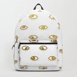 Golden eyes Backpack
