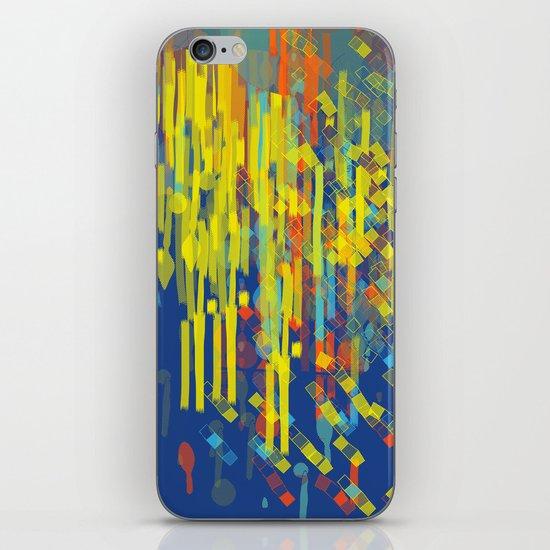 colorfall iPhone & iPod Skin