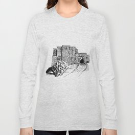 shadow at the top of the hill Long Sleeve T-shirt