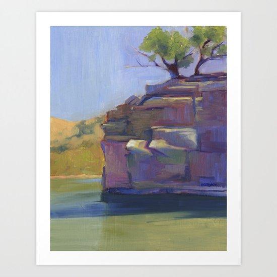 River Bend Art Print