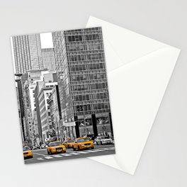 NYC Yellow Cabs NYPD - USA Stationery Cards