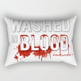 Washed in Blood Rectangular Pillow