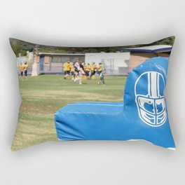 Football Dummy Rectangular Pillow