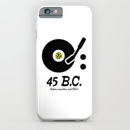 45 B.C. iPhone Case