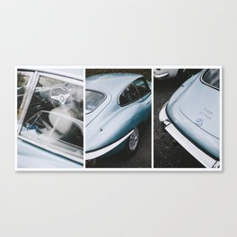 E Type Jaguar Canvas Print