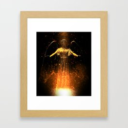 Rise From the Flames Framed Art Print